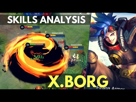 X.BORG : NEW FIGHTER HERO SKILL AND ABILITY ANALYSIS   Mobile Legends