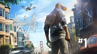 [GAME PLAY] Watch Dogs 2 #1 INDONESIA 2017