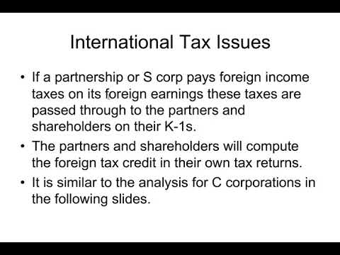 Introduction to International Tax