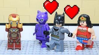 Lego Superhero Valentine