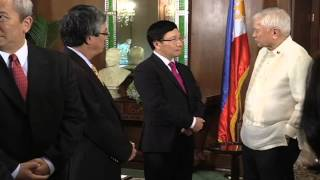 Courtesy Call of Foreign Affairs Minister Pham Binh Minh