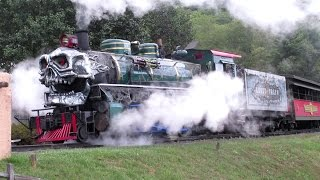 Tweetsie's Ghost Train Preparation and Practice runs