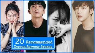 Video 20 Recommended Korean Revenge Dramas download MP3, 3GP, MP4, WEBM, AVI, FLV April 2018