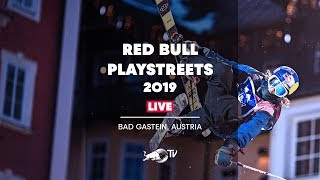 REPLAY Urban Freestyle Skiing | Red Bull PlayStreets 2019 thumbnail