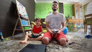 JOGANDO VIDEOGAME COM O MAIKITO!! Skate 3 no Xbox 360 e Jogo de Futebol em Casa com Neymarcos ⚽