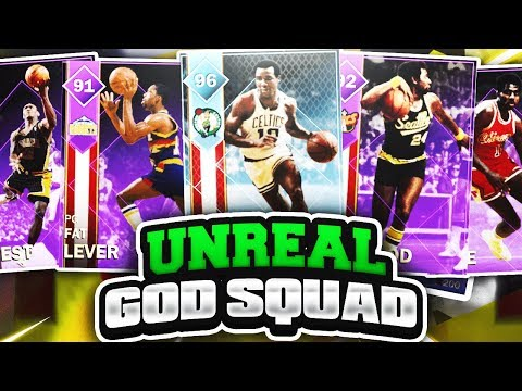 INSANE GOD SQUAD GAMEPLAY! DIAMOND JO JO WHITE GOES OFF! NBA 2K18 MYTEAM GAMEPLAY