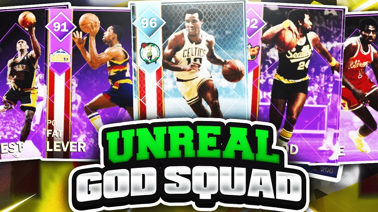 INSANE GOD SQUAD GAMEPLAY DIAMOND JO JO WHITE GOES OFF NBA 2K18