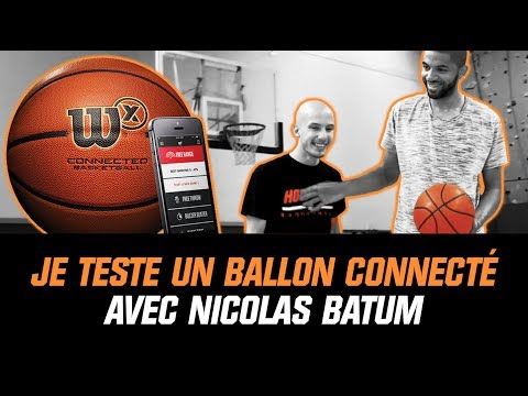 NICOLAS BATUM TESTE UN BALLON CONNECTÉ ! (+1VS1)