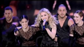 Madonna - Sticky & Sweet Tour HD(Madonna - Sticky & Sweet Tour 0:00:00 The Sweet Machine 0:03:32 Candy Shop 0:07:16 Beat Goes On 0:11:41 Human Nature 0:15:35 Vogue 0:20:05 Die ..., 2012-09-16T18:02:06.000Z)