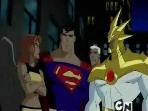 Aztek on Justice League Unlimited