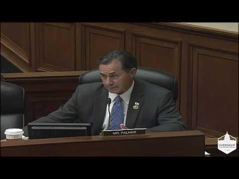 Congressman Palmer Q&A at FDIC Hearing