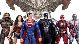 Superman is back! Go! Completed Justice League Batman, Wonder Woman, Flashman! - DuDuPopTOY