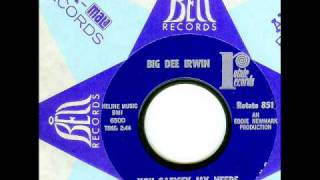 Big Dee Irwin - YOU SATISFY MY NEEDS  (1965)