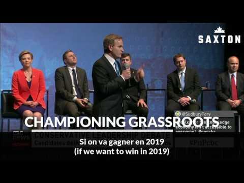 ANDREW SAXTON champions Grassroots Voice