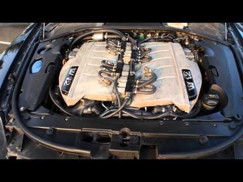 VW Phaeton W12 motor sound