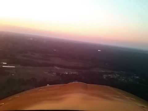 landing at PK Airpark (outside Fayetteville, NC) runway 22 - May 15 2017