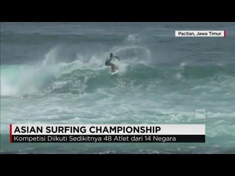 14 Negara Dunia Meluncur di Asian Surfing Championship