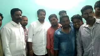 Jana sena party anantapur t.c varun Anna wedding invitations to kalyandurgam janasena team members