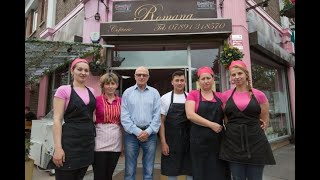 A Romanian baker has said he won't employ British people because they don't work as hard as his fellow countrymen do.  Every single one of Ovidiu Sarpe's 16 employees at Pastisserie Romana in Burnt Oa