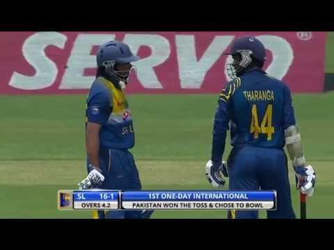 1st ODI: Sri Lanka v Pakistan - Highlights