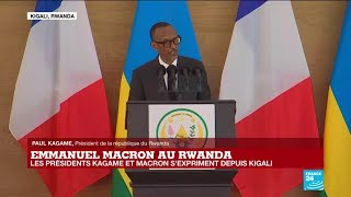 REPLAY - L'intégralité de la conférence de presse conjointe d'Emmanuel Macron et Paul Kagame