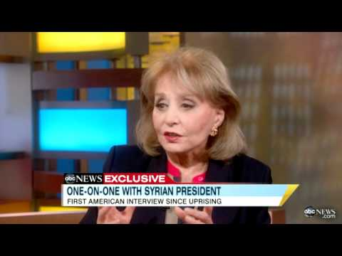 Barbara Walters' Interview With Syria's President: Bashar al-Assad 'Not Like Moammar Gadhafi'