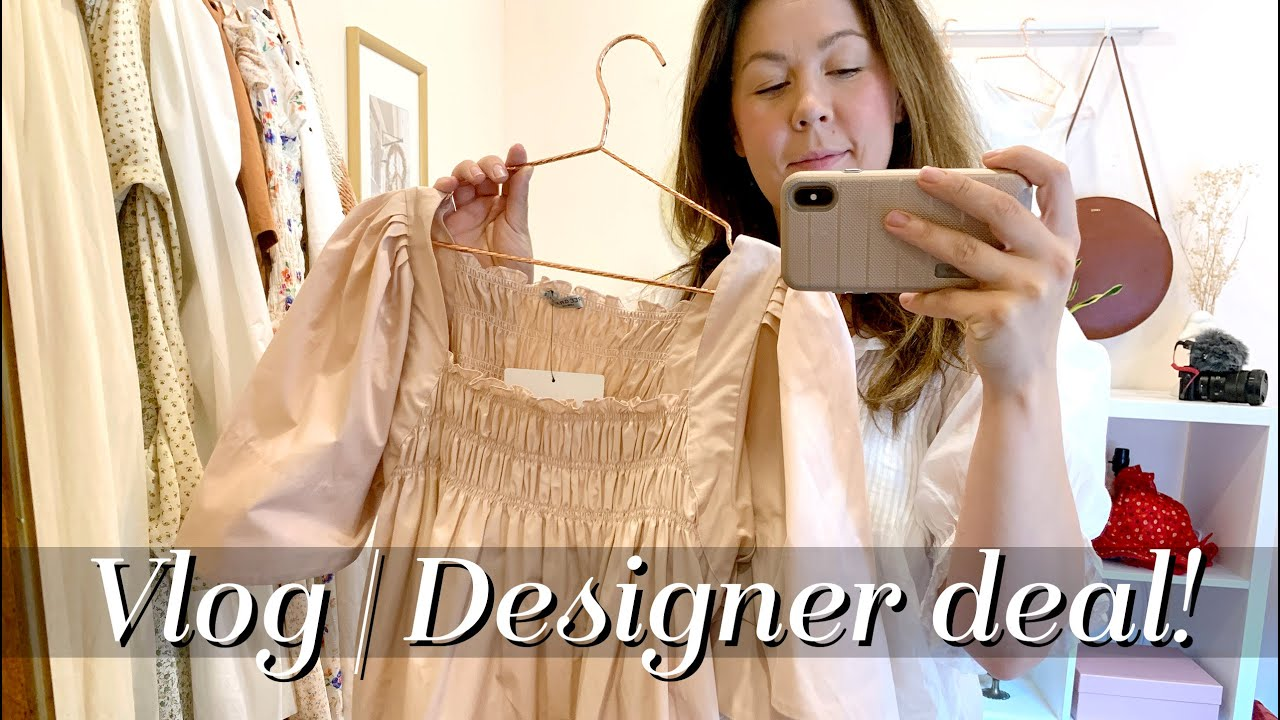 Vlog! The BEST Deal on a Designer Dress & New boots! | Kait Bos