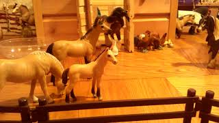 Обзор моей коллекции лошадей шляйх(и не только) имена для жерибёнка в комментариях
