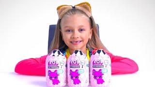 Ярослава и Игрушки - Видео для детей | Редкий питомец LOL
