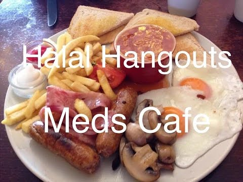Halal hangouts - Meds Cafe - London (E3)