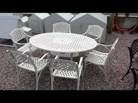GREAT QUALITY ALUMINIUM GARDEN FURNITURE AT WWW.ARMAGHTRAILERS.COM