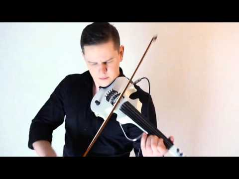 Calvin Harris How Deep Is Your Love  Chives Violin Concept