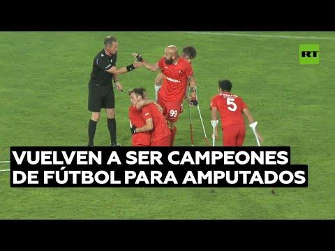 Turquía gana el título europeo de fútbol para amputados @RT Play en Español