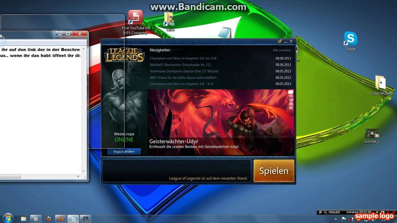 League Of Legends Kostenlos Downloaden