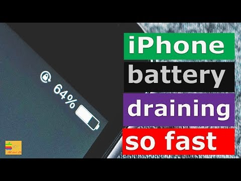 How to prevent iOS battery from draining out quickly