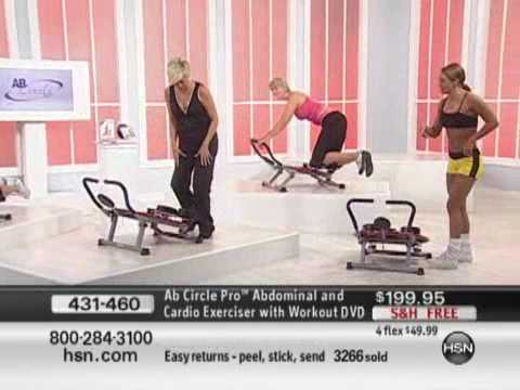 Ab Circle Pro Abdominal and Cardio Exerciser with Workout DVD