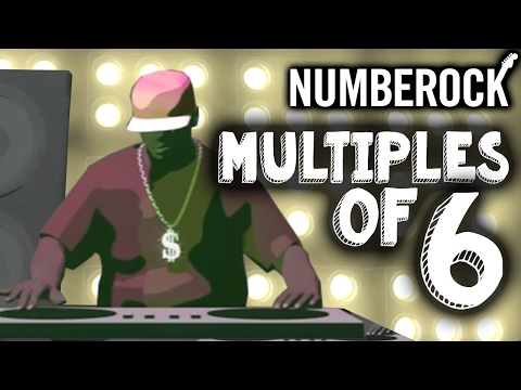 6 Times Table Song Rap  Skip Counting  6  Multiplication Song  NUMBEROCK