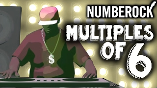 6 Times Table Song Rap | Skip Counting by 6 | Multiplication Song by NUMBEROCK