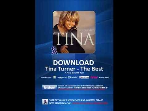 Tina Turner - The best - On Radio 1 - Number 13 in the midweek charts!