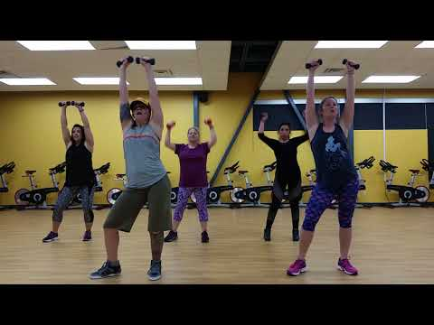 Fitness Dance Arm Song to All The Time by Bahamas Choreo by Beth Jozwik