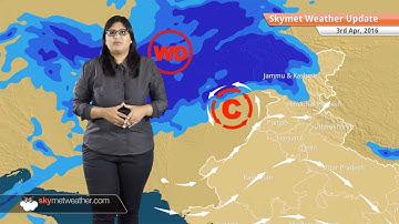 Weather Forecast for April 3: Rain in Kashmir, heat wave to abate in Maharashtra, Telangana