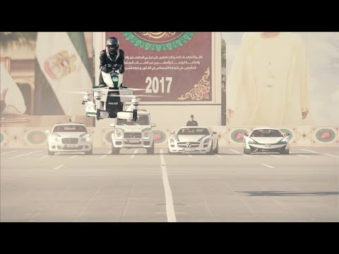 Dubai police reveal new Scorpion hoverbike at GITEX - Autoblog