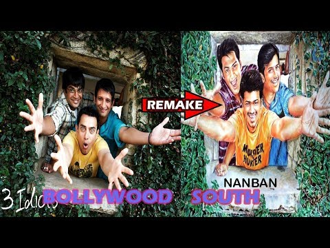 Top 5 Bollywood Movie Remake in South Indian & Become Blockbuster  | The Topic