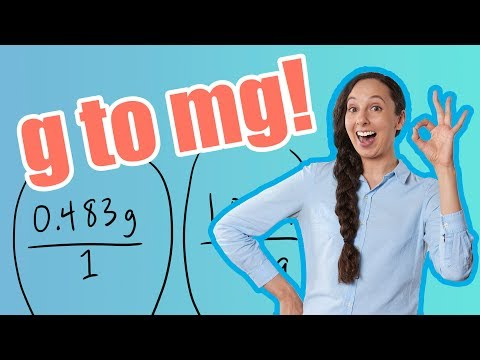 g to mg (How to Convert Grams to Milligrams)