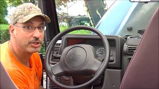 Clock Spring Replacement: 1997-2006 Jeep Warangler - TJ * Easy: How-To * thumbnail