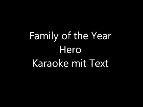 Hero - Family of the year   Karaoke mit Text