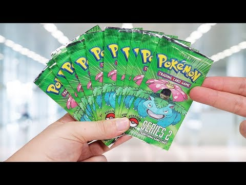 Opening 10 Pokemon Pop Series 2 Booster Packs (2005)