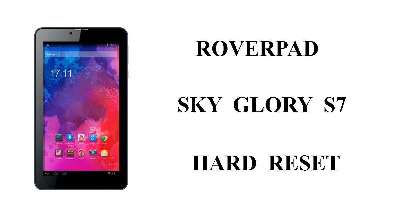 roverpad sky glory s7 инструкция по прошивке