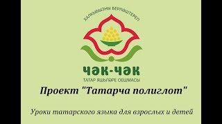 Уроки татарского языка для взрослых и детей. Проект ''Татарча полиглот''. Урок 4.