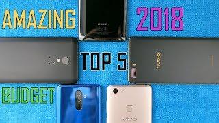 Top 5 AMAZING New Phones between $150 and $300 #2018